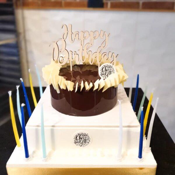 cake topper michocomigato