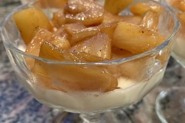 Recette : Panna cotta coco ananas