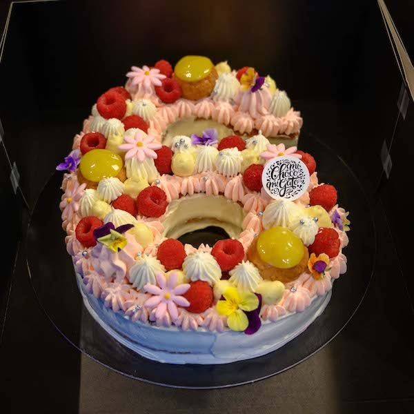 number cake chiffre 6