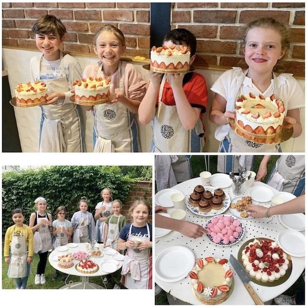 cours de pâtisserie mini chefs