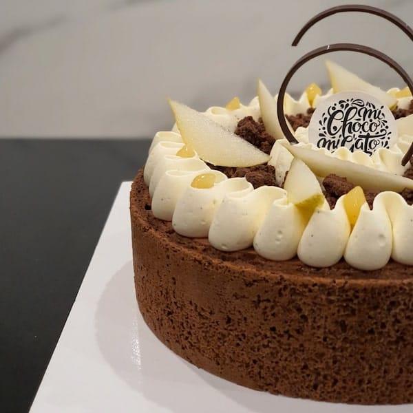 charlotte poire chocolat