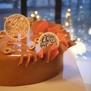 gâteau du réveillon de la saint sylvestre