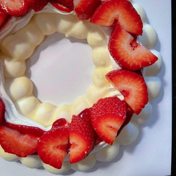 Pavlova Fruits Rouges Orgeat