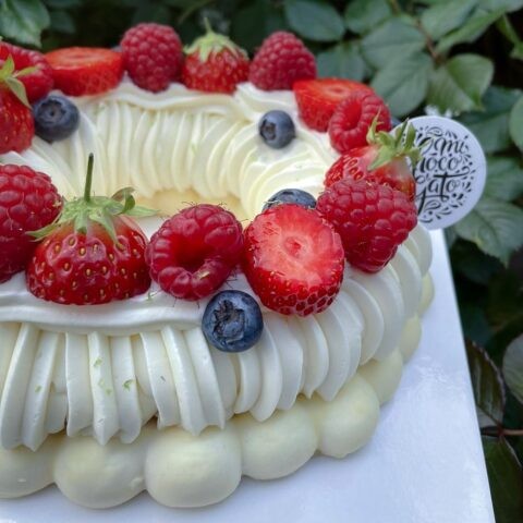Pavlova Fruits Rouges Orgeat