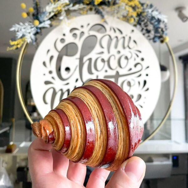 Croissant bicolore Choco